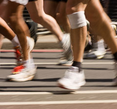 Löparknä behandling knäskadekliniken